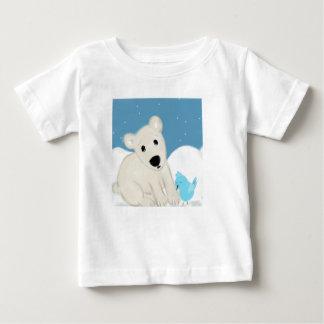 Camiseta Para Bebê Amigos polares