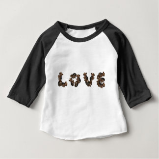 Camiseta Para Bebê Amor