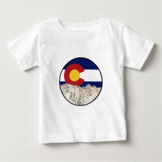 Camiseta Para Bebê Amor da montanha rochosa