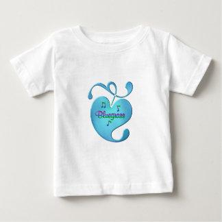 Camiseta Para Bebê Amor da música de Bluegrass