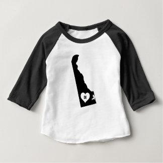 Camiseta Para Bebê Amor de Delaware