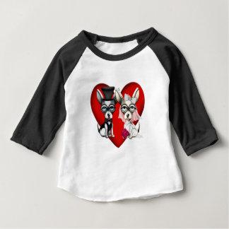 Camiseta Para Bebê Amor de filhote de cachorro