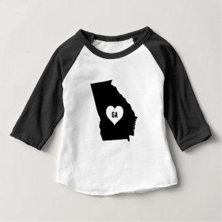 Camiseta Para Bebê Amor de Geórgia