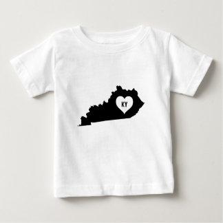 Camiseta Para Bebê Amor de Kentucky