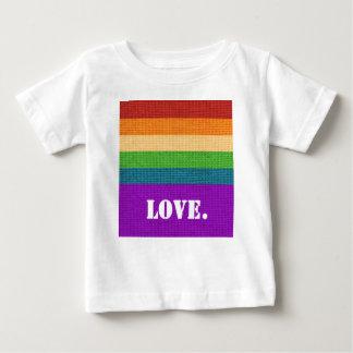 Camiseta Para Bebê Amor de LGBT