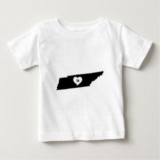 Camiseta Para Bebê Amor de Tennessee