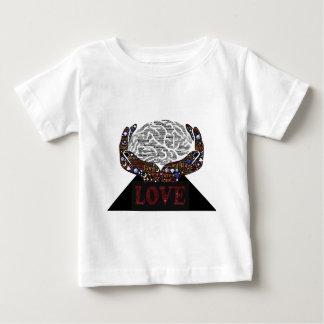Camiseta Para Bebê Amor descrito em muitas palavras