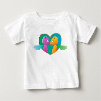 Camiseta Para Bebê Amor do dragão Spiffy o dragão