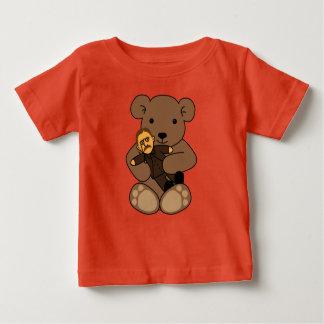 Camiseta Para Bebê Amor do ursinho