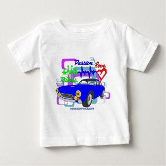 Camiseta Para Bebê amor F250Lusso da paixão dos pistões