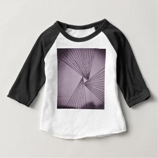 Camiseta Para Bebê Amor focalizado explícito roxo