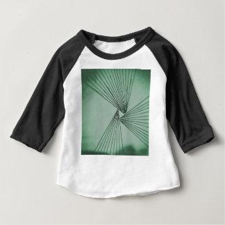 Camiseta Para Bebê Amor focalizado explícito verde