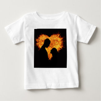 Camiseta Para Bebê Amor sensual