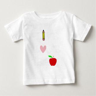 Camiseta Para Bebê amor vivo teach4