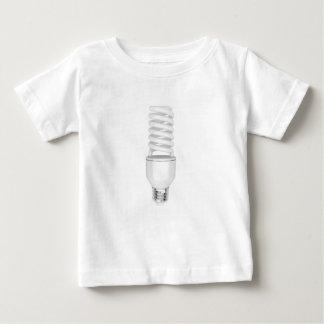 Camiseta Para Bebê Ampola fluorescente