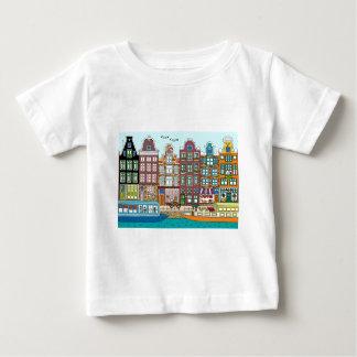 Camiseta Para Bebê Amsterdão