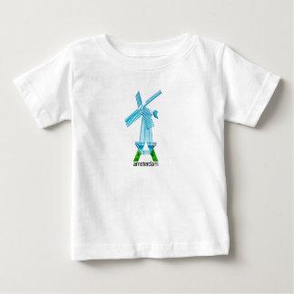Camiseta Para Bebê Amsterdão caçoa o t-shirt