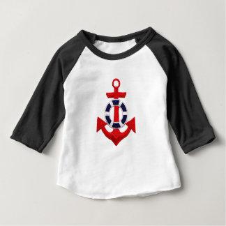 Camiseta Para Bebê âncora