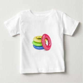 Camiseta Para Bebê Anéis da natação