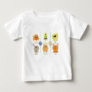 Camiseta Para Bebê Animais de estimação