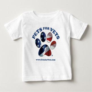 Camiseta Para Bebê Animais de estimação para veterinários