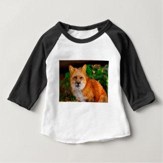 Camiseta Para Bebê Animal do Fox de Fuchs