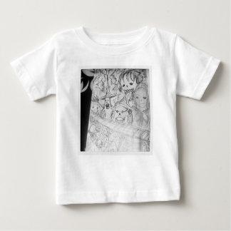 Camiseta Para Bebê anime do manga do monstro do yaie