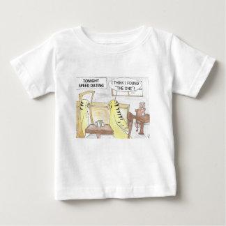 Camiseta Para Bebê Aniversário, a maneira do parakeet