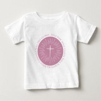 Camiseta Para Bebê Aniversário da reforma 500 anos 1517 - 2017