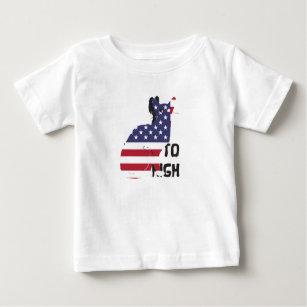 Camiseta Para Bebê Aniversário do adolescente de 15 anos do número do
