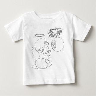 Camiseta Para Bebê anjo