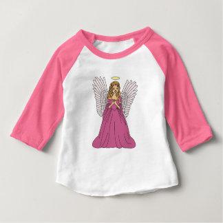 Camiseta Para Bebê Anjo 3