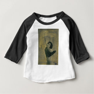 Camiseta Para Bebê Anjo com harpa