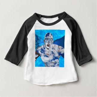 Camiseta Para Bebê Anjo da natação