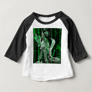 Camiseta Para Bebê Anjo do Cyber