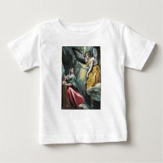 Camiseta Para Bebê Anjo que fala a Mary