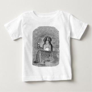 Camiseta Para Bebê Anjos sobre a arca da obrigação contratual