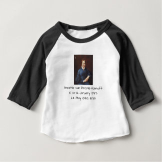 Camiseta Para Bebê Annette von Droste-Hulshoff 1838