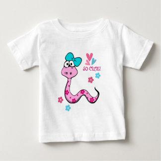 Camiseta Para Bebê Ano chinês do t-shirt do divertimento do cobra