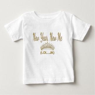 Camiseta Para Bebê Ano novo, novo mim LOL JK