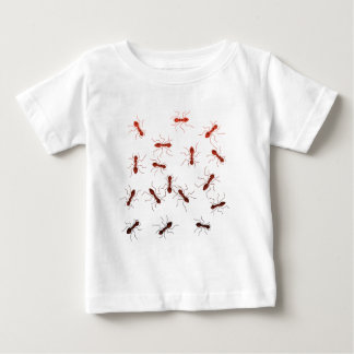 Camiseta Para Bebê Antics. da formiga
