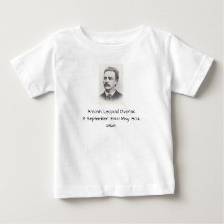 Camiseta Para Bebê Antonin Leopold Dvorak 1868