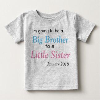 Camiseta Para Bebê Anúncio do big brother