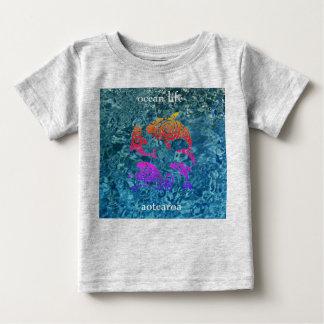 Camiseta Para Bebê aotearoa da vida do oceano