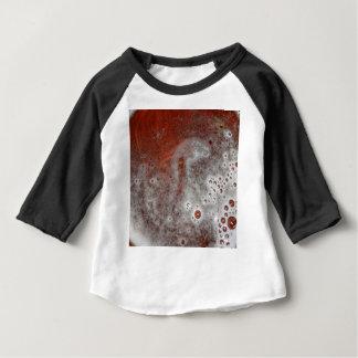 Camiseta Para Bebê Apenas a espuma
