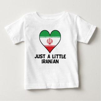 Camiseta Para Bebê Apenas um iraniano pequeno