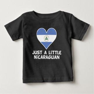 Camiseta Para Bebê Apenas um Nicaraguan pequeno