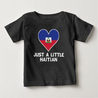 Camiseta Para Bebê Apenas um pouco haitiano