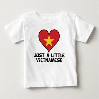 Camiseta Para Bebê Apenas um vietnamita pequeno