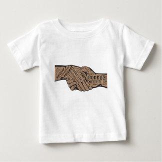 Camiseta Para Bebê Aperto de mão